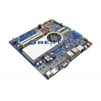 Wholesale HDMI 4 K Mini ITX Motherboard With Processor I3 6100U , 2 COM Industrial Board With LVDS from china suppliers