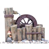 Wholesale Water Wheel Decorative Outdoor Tiered Water Fountains Easy Install from china suppliers