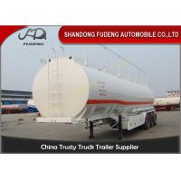 Wholesale 55 cbm fuel tanker Semi Trailer large capacity carbon steel material price from china suppliers