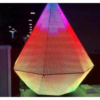 Wholesale Triangle Dj Club Led Video Wall , Creative Led Display Screen For Night Club from china suppliers