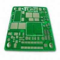 Buy cheap Single-sided PC Board for Electronic Products, with Blind and Buried Holes, 1oz Circuit Layer from wholesalers