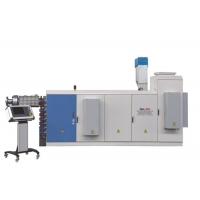 China PE PP Horizontal Double Wall Corrugated Pipe Extrusion Line on sale