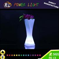 Wholesale Home Furniture Decorative Lighting Vase Plastic LED Flower Vase from china suppliers