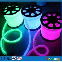 Wholesale 82 feet spool 24V 360 degree purple led neon lights for rooms dia 25mm round Wholesaler from china suppliers