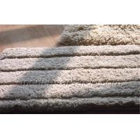 Buy cheap Dining Room Beige Solid Color Rugs, Anti-slip Polyester Shaggy Pile Carpet Rug from wholesalers