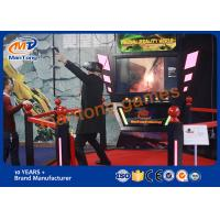 Wholesale Theme Park Simulator Virtual Reality Games With CE / SGS Certificate from china suppliers