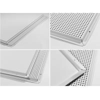 Quality Sound Absorbing Aluminium Ceiling Panel , Square Edge Lay In Ceiling Panels for sale