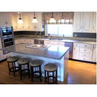 Wholesale Spain Azul Platino Granite Countertop price Speckled Stone Slab Kitchen from china suppliers