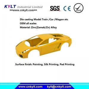 Wholesale Precise Zinc/Zamak Metal Alloy Die Casting Model Car/truck/wagon/train (HO/TT SCALE) from china suppliers