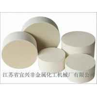 Quality MgO Ivory Ceramic Substrates Support For Diesel Oxidation Catalyst for sale