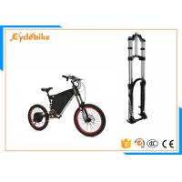 Wholesale Black Electric Bike Suspension Fork 210mm Maximum Rotor Size from china suppliers