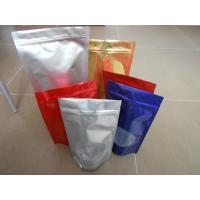 Wholesale Custom PET / PA/AL / PE / LDPE Stand up Ziplock Mylar Food Plastic Pouches Packaging from china suppliers