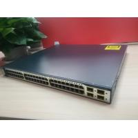 Buy cheap Four SFP Uplinks Catalyst 3750G Switch Cisco Second Hand IP Services Image from wholesalers