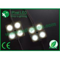 Wholesale Sumsung Single Color 4 Led Pixel Module Waterrpoof Dc12v Flat Shape from china suppliers