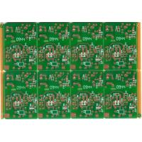 Buy cheap RoHS High TG FR-4 , Halogen Free material / CEM-3 Single Sided PCB DIP & SMT from wholesalers
