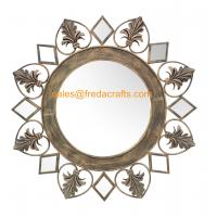 Wholesale Wholesale Eco-Friendly Europe Style Resom Decorated Handmade metal Antique Mirror from china suppliers