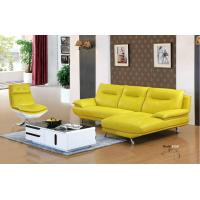 Wholesale 612#;  modern L shape genuine leather sofa set, home furniture,office furniture, living room furniture, Africa sofa; from china suppliers