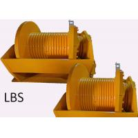 Quality Engineering 10 Ton Hydraulic Crane Winch Single Rope Tension One Year Warranty for sale