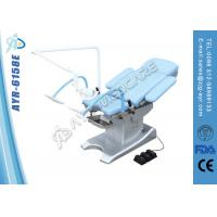 Wholesale Mobile Obstetric Delivery Bed Medical Exam Room Furniture With Arm Astral Lamp from china suppliers