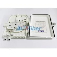 Quality 1x16 PLC Splitter Fibre Optic Termination Box With SC UPC / APC Connectors for sale