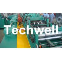 Wholesale YX-86-194-312 W Beam Guardrail Roll Forming Machine For 2 - 4mm Material Thickness from china suppliers