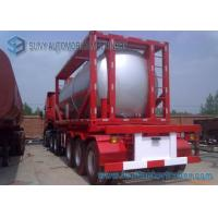 Wholesale 51.5 cbm 40 Feet 16MnDR LPG Tank Container Transport Semi Trailer from china suppliers