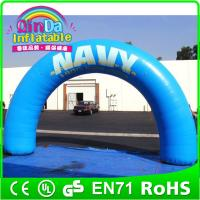 Wholesale Air sealed Inflatable Arch for sports events Finish Line Inflatable Start Advertising arch from china suppliers