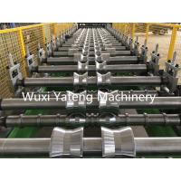 Wholesale Steel Materials Corrugated Roll Forming Machine Chain Drive Hydraulic Cutting Style from china suppliers