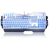 Wholesale PC Gaming Office Waterproof Mechanical Keyboard With LED Backlit 104 Keys from china suppliers