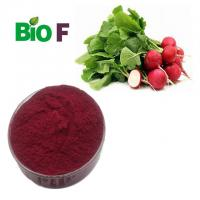 Wholesale Anthocyanin Natural Pigment Powder Red Radish Root Extract For Beverages from china suppliers