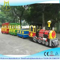 Wholesale Hansel Top Sales Cheap Colorful Kids Electric Amusement Train Rides for Amusement Park factory from china suppliers
