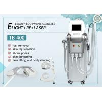 Wholesale OPT Hair Removal E-light IPL RF / Nd Yag Laser Tattoo Removal Machine 1320nm from china suppliers