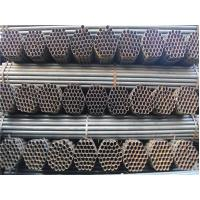 Wholesale Round Welded ERW Steel Pipe / ERW Tube For Steel structure Sch 40 Steel Pipe from china suppliers