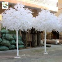 Wholesale UVG GRE011 10ft artificial winter trees with fake banyan branches for theme decoration from china suppliers