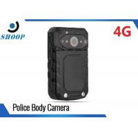 Wholesale LTE 3G / 4G Wireless Police Body Cameras For Law Enforcement GPS 32GB 3200mAh from china suppliers