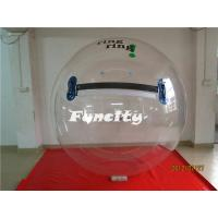 Wholesale Custom Logo Transparent Large Human Sphere 0.8MM Water Walking Ball PVC Inflatable from china suppliers