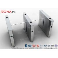Wholesale High Speed Drop Arm Turnstile , Magnetic Card Stainless Steel Access Control System from china suppliers