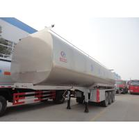 Wholesale HOT SALE! high quality and competitive price CLW brand stainless steel milk tank semitrailer, liquid food tank trailer from china suppliers