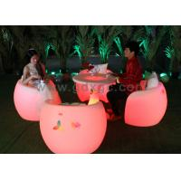 Wholesale Fashion Durable Outdoor Chairs And Stools Illuminated Led Furniture from china suppliers