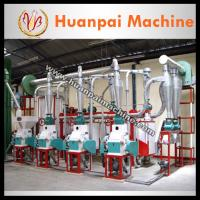 Wholesale 6FYDT-25T/24H maize grits machine(In America) from china suppliers