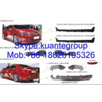 Wholesale Plastic Car Body Spare Parts Spoiler For Japanese Toyota Corolla 2014 from china suppliers