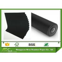 Wholesale Low Grammage Black Paperboard Roll / Sheet 110gsm - 550gsm 100% Recycled Material from china suppliers