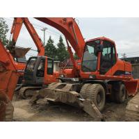 Buy cheap Used doosan excavator DH 210W-7 for sale from wholesalers
