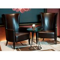 Wholesale Leisure Leather Chair Modern Lobby Furniture For 5 Star Hotel Public Area from china suppliers