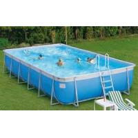 Wholesale PVC Inflatable Outdoor Swimming Pools , Inflatable Above Ground Pools from china suppliers