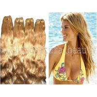 Wholesale Unprocessed Indian Yaki Yellow Non Remy Human Hair Extensions For Ladies from china suppliers