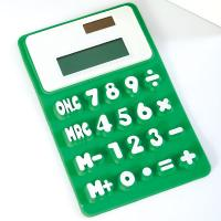 Wholesale silicone calculator, solar energy silicone calculator from china suppliers