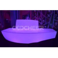 Wholesale Bright Living Room Led Sofa Leisure Led Light Couch Chair Long Back Modern from china suppliers