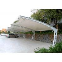 Wholesale Heavy Duty Steel Frame Car Canopy Tents With PVDF / PDFE Fabic Cover from china suppliers