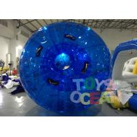 Wholesale Diameter 3m Blue Inflatable Bumper Auqa Zorb Walking Ball , Inflatable Zorb Ball from china suppliers